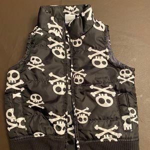 Kids Disney Pirates Skulls Thermal Vest